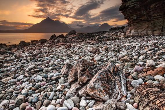 Stones in Beach