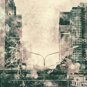 Quadro - Abstract City