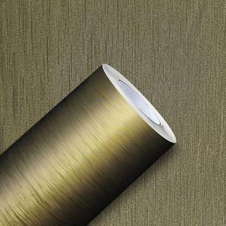 Papel de Parede - Escovado Ouro - med. 1 metro x 61 cm