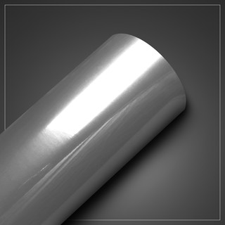 Papel de Parede - Metallic Escovado Prata - med. 1 metro x 61 cm