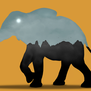 Quadro - Elephant Paradise