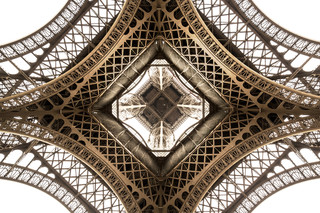 Detail Eiffel Tower